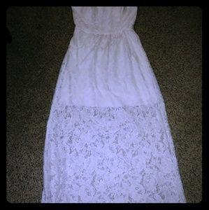 Beautiful laced dress.
